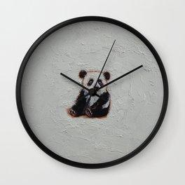 Tiny Panda Wall Clock