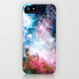 Carina Nebula : Colorful Galaxy iPhone Case