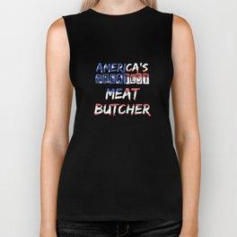 America's Greatest Meat Butcher Biker Tank