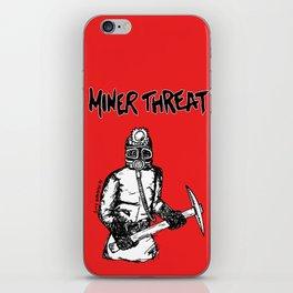 Miner Threat iPhone Skin