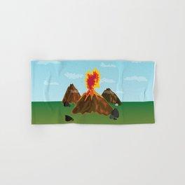 Hot Volcanos Hand & Bath Towel