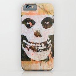 Misfit-Skull iPhone Case