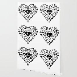 I Love First Aid | Doctor Nurse Heart Hospital Wallpaper