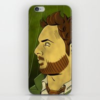 watchmen iPhone & iPod Skins featuring It's Always Sunny in Watchmen - Charlie by Jessica On Paper