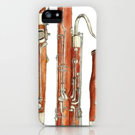 Bassoon iPhone Case