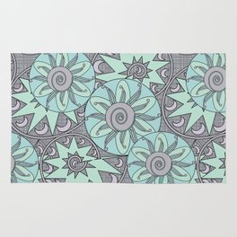 Abstract ethnic pattern Rug