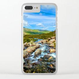 White Rocks ||| Clear iPhone Case