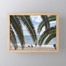 Peak Through The Trees Framed Mini Art Print