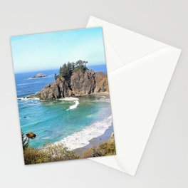 coastal overlook Stationery Cards