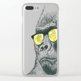 RIP Harambre Clear iPhone Case