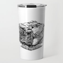 Pigeon Cube Travel Mug