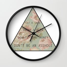 The New Hierarchy of Needs Wall Clock