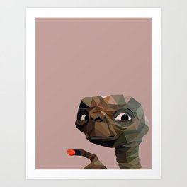 E.T. graphic | feyerabend illustration Art Print