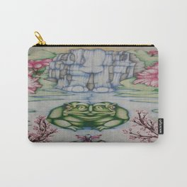 The Toad of Cherry Blossom River Carry-All Pouch