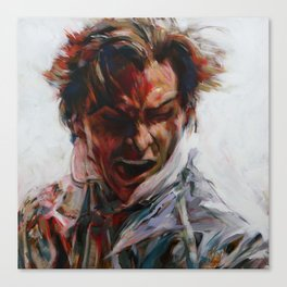 Painting of Patrick Bateman (Christian Bale) from American Psycho (2000) Canvas Print