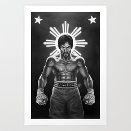 Pacquiao - Pride of the Philippines Art Print
