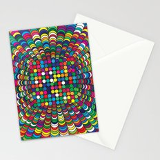 Focus Geometric Art Print. Stationery Cards