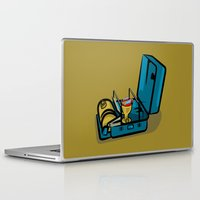 swedish Laptop & iPad Skins featuring Retro Swedish Camp Stove by mailboxdisco