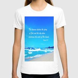 Psalm 19 T-shirt