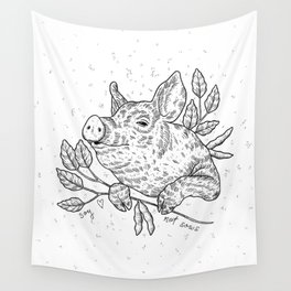 soy not sows <3 Wall Tapestry