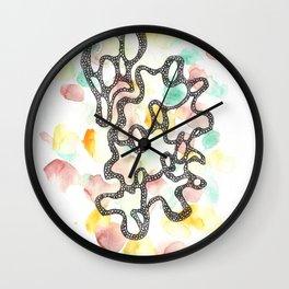 Scandi Micron Art Design | 170808 Microns Watercolour 11 Wall Clock