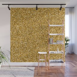 Glitter Gold Diamond Sand Wall Mural