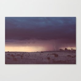 Marfa Thunderstorm Canvas Print