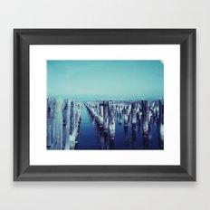 Princes Pier Framed Art Print