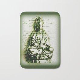 Antique Green Kwan Yin Bath Mat