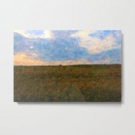 Cubism landscape Metal Print