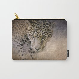 Stalking Her Prey - Wildlife - Leopard Carry-All Pouch