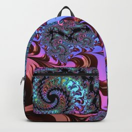 Metallic Fractal Backpack