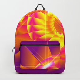 Bright Flower Backpack