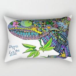 Karma Chameleon Rectangular Pillow