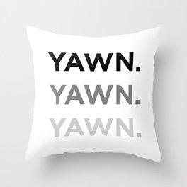 Subliminal Messaging Throw Pillow