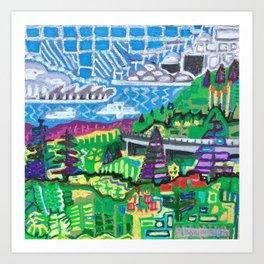 Lynnville Art Print