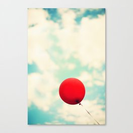 Nowhere To Go But Up Canvas Print