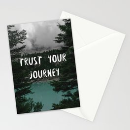 Trust your journey Stationery Cards