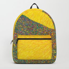 Here Comes the Sun - Van Gogh impressionist abstract Backpack