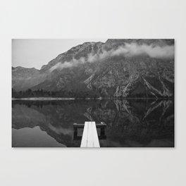 Alpine lake Bohinj, Slovenia. 2016. Triglav national park Canvas Print