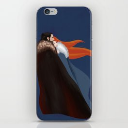 Facing the Night Together iPhone Skin
