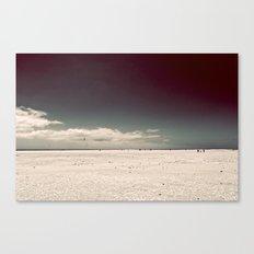 Walking On Canvas Print