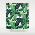 Tropical Banana leaves pattern by mydream