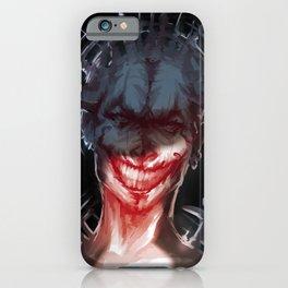 evil grin iPhone Case