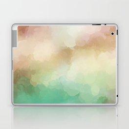 Abstract Blush Pink Green Design Laptop & iPad Skin