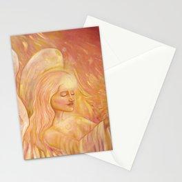 Angel of light, beautiful angel Stationery Cards