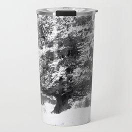 Snow Tree Travel Mug