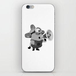 It's Carl! Black White iPhone Skin