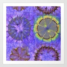 Resistability Woof Flower  ID:16165-105348-97381 Art Print