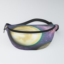 Cappuccino Planets Fanny Pack